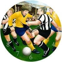 Torquay United Beryl Cook Wall Clock