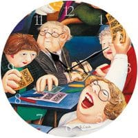 Bingo Beryl Cook Wall Clock