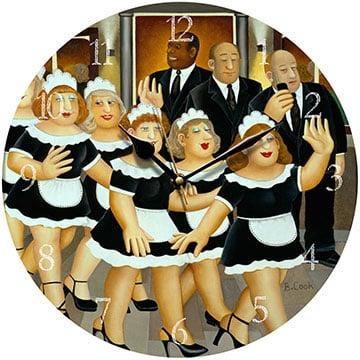 Girls Night Out Beryl Cook Wall Clock