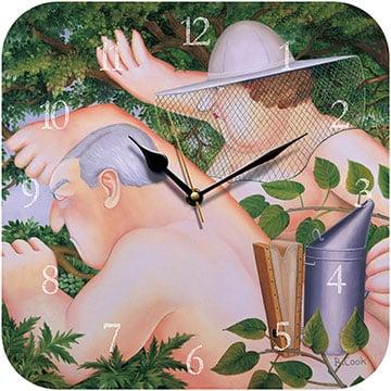 Beekeepers Beryl Cook Wall Clock