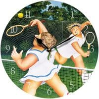 Ladies Match Beryl Cook Wall Clock