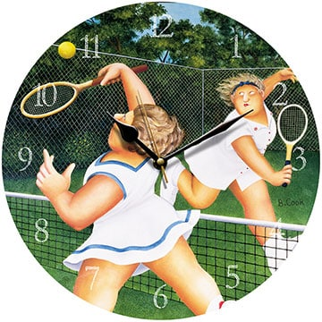 Ladies Match Beryl Cook Wall Clock