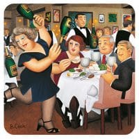 Dining Out Beryl Cook placemat