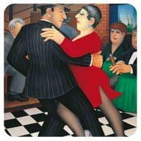 Tango Bar Beryl Cook coaster